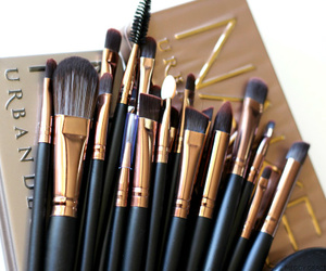 Brushes, urban decay, and make up image