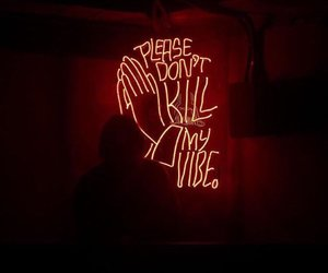 neon, red, and grunge image