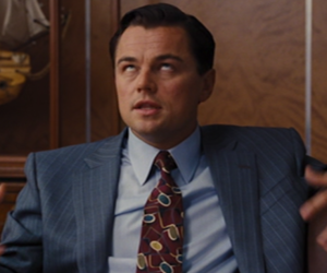 leonardo dicaprio, OH MY GOD, and the wolf of wall street image