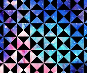 background, colors, and triangles image