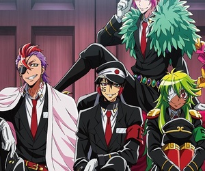 anime, nanbaka, and nico image
