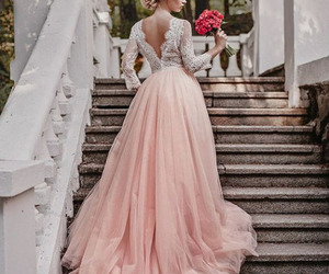 pink, wedding, and chic image