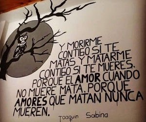 love, joaquin sabina, and frases image