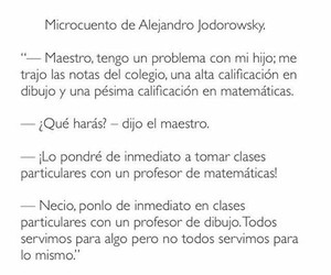 profesores and microcuento image