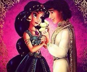 aladin, disney, and princess jasmin image