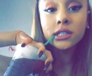 girl, icon, and ariana image
