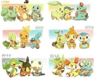 generation, pokemon, and treecko image