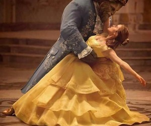 beauty and the beast, disney, and emma watson image