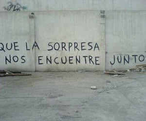 accion poetica, sorpresa, and frases image