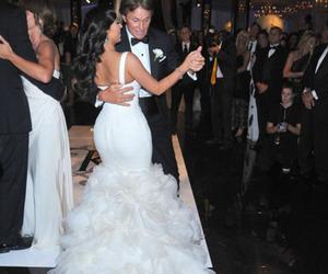 dress, kim kardashian, and wedding image