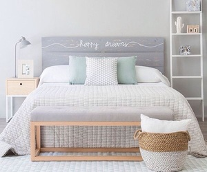beautiful, bed, and design image