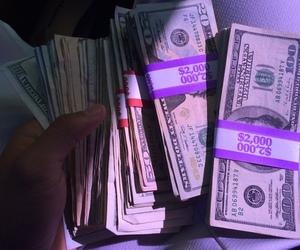 money, dollar, and grunge image