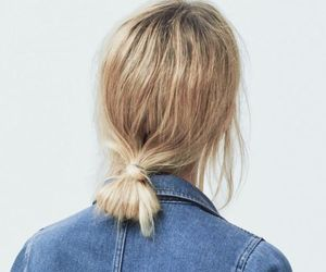 hair, blonde, and jeans image