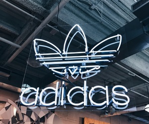 adidas, brand, and chicago image