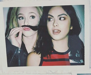 riverdale, camila mendes, and lili reinhart image