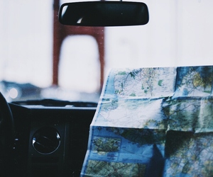 blue, travel, and drive image