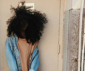 hair, beauty, and melanin image