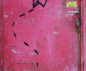 graffiti, israel, and pink image