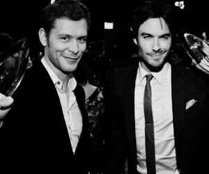 joseph morgan, ian somerhalder, and klaus image