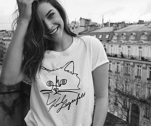 model, smile, and barbara palvin image