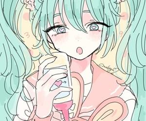 art, hatsune miku, and illustration image