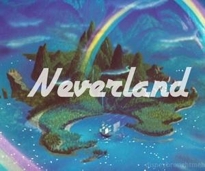 peter pan, neverland, and disney image