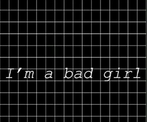 bad, background, and bad girl image