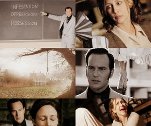 aesthetic, horror movie, and the conjuring image