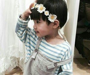 baby, family, and korean image