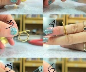 diy, ring, and tutorial image