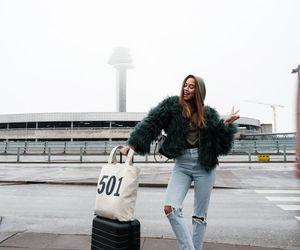 boyfriend jeans, luxury, and streetstyle image