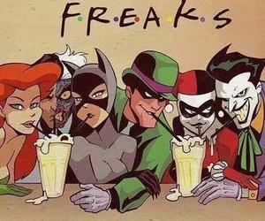 joker, friends, and harley quinn image