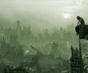 apocalypse, dark, and the end image