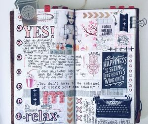 art, art journal, and creative image