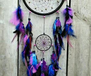 dream catcher and purple image