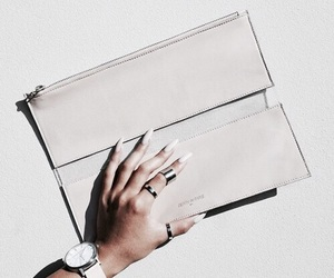 nails, bag, and watch image