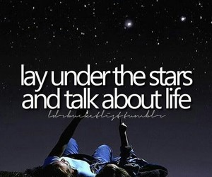 stars, life, and bucket list image