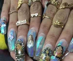 nails and ghetto image