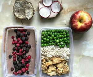 apple, food, and healthy image