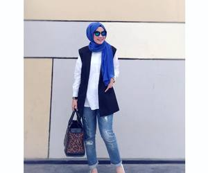 beauty, casual, and arabian style image