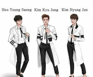 pain, ss501, and comeback image