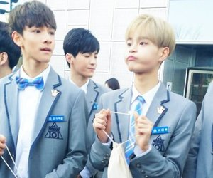 samuel, produce101, and daehwi image