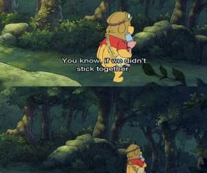 winnie the pooh, piglet, and quote image