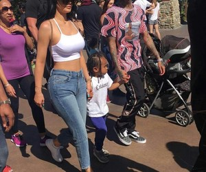 kylie jenner, style, and tyga image