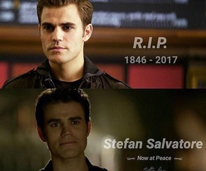 the vampire diaries, stefan salvatore, and paul wesley image