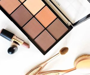 beauty, brush, and contour image
