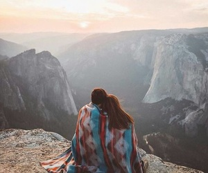 couple, sweet, and view image