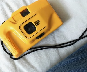 camera, capture, and denim image