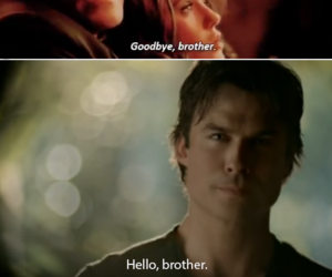 damon, family, and stefan image