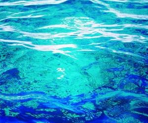 aqua, blue, and bright image